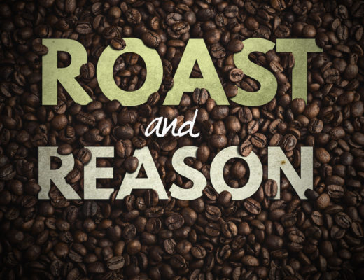 Roast and Reason podcast art