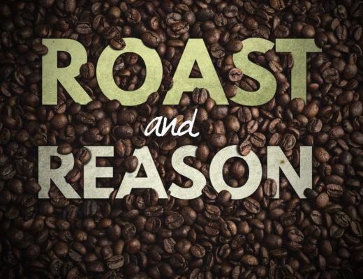 Roast and Reason podcast art